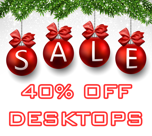 Desktop Computer Holiday Sale