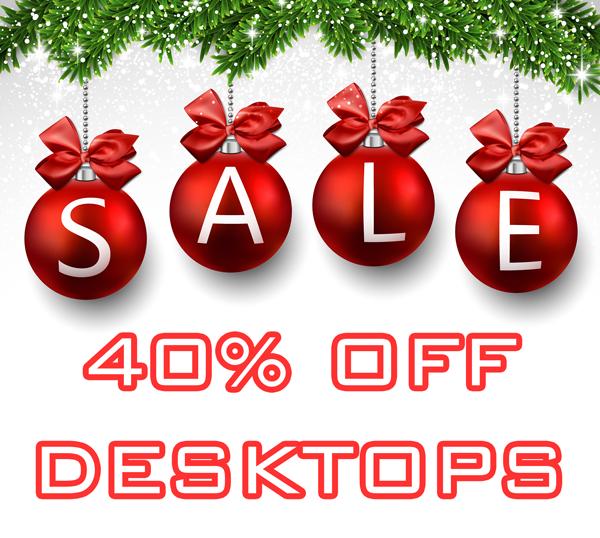 Desktop Computer Holiday Sale