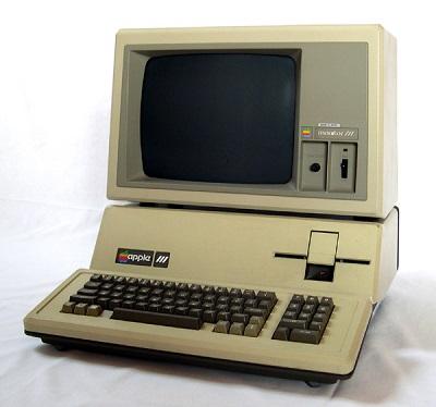 Old Apple Desktop Computer